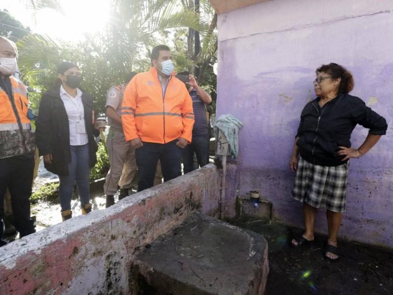 Aumenta a 180 las casas afectadas por lluvia del viernes