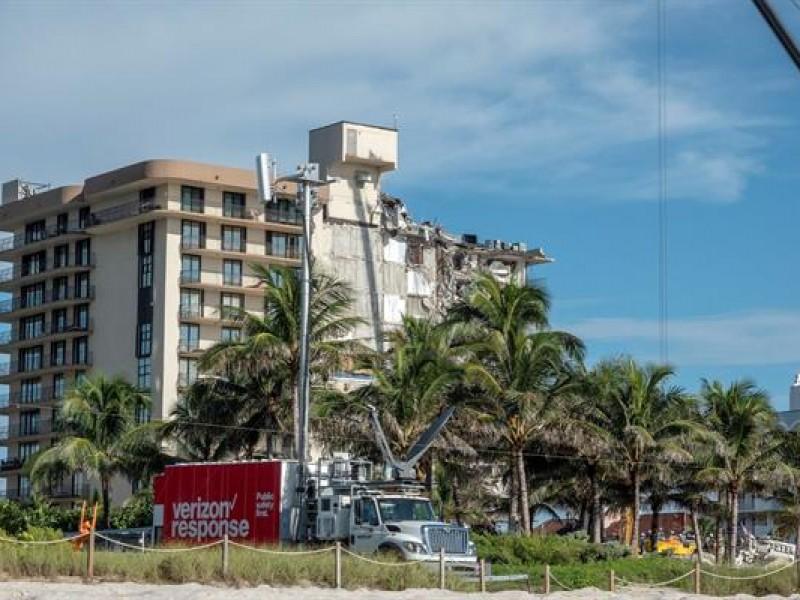 Aumentan a 24 los fallecidos en el derrumbe de Miami-Dade