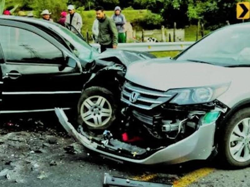 Aumentan accidentes en diciembre un 20%