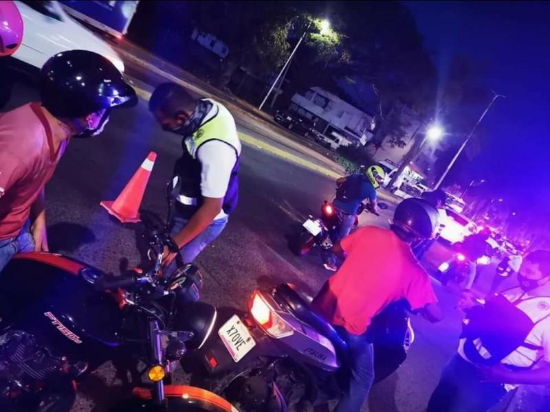 Aumentan accidentes viales de motociclistas; 19-20 años edad de riesgo