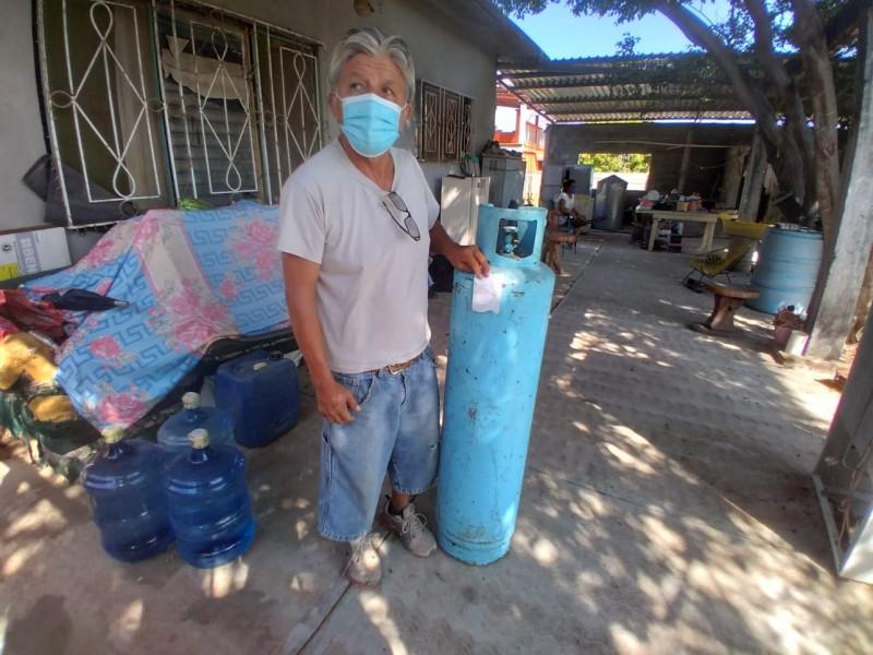 Aumentan denuncias de tanques de Gas LP dañados en Tehuantepec