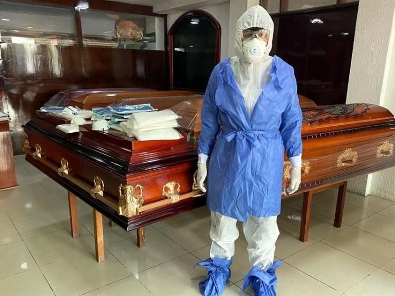 Aumentan en 400% los servicios funerarios en Guaymas