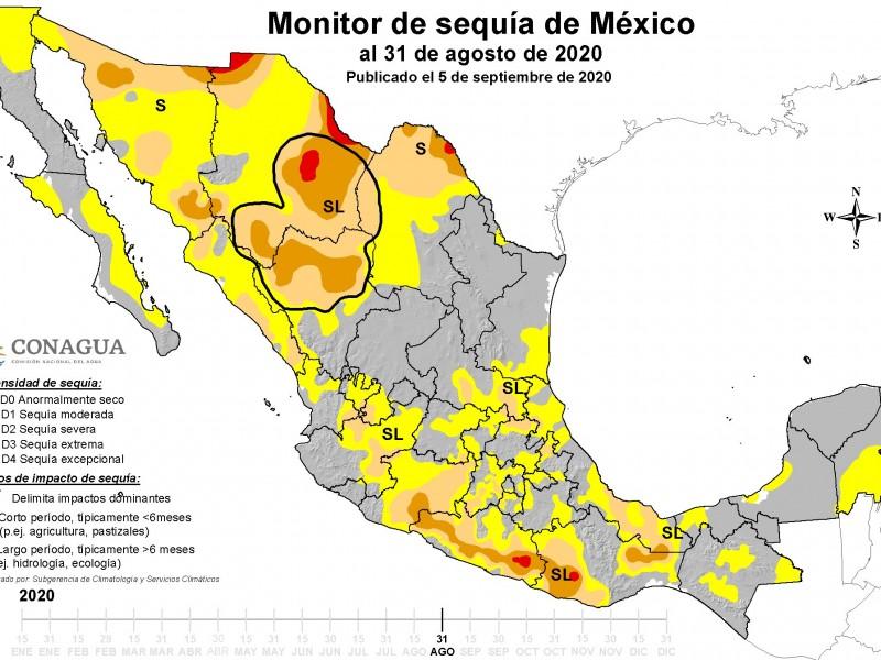 Aumentan municipios veracruzanos con algún tipo de sequía