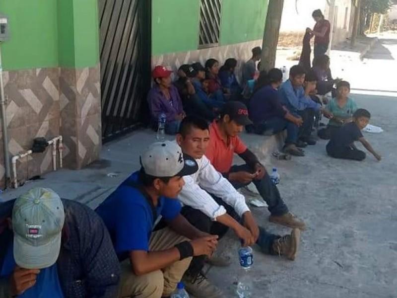 Aumentan menores en grupos de migrantes