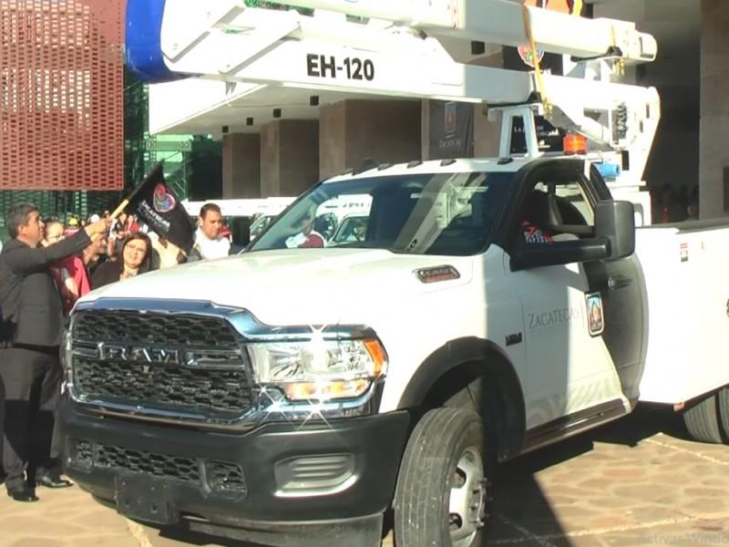 Aumentan parque vehícular para Zacatecas capital