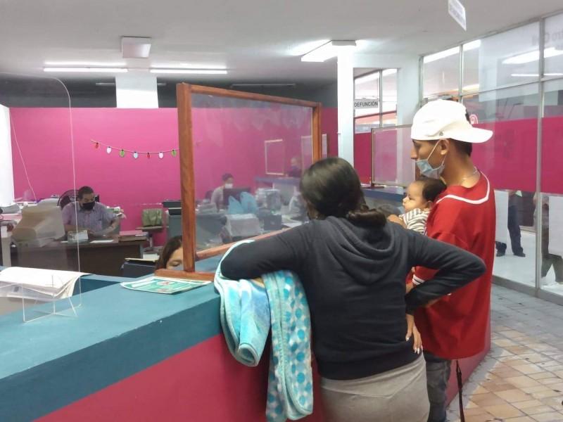 Aumentan tarifas de trámites en el Registro Civil de Michoacán