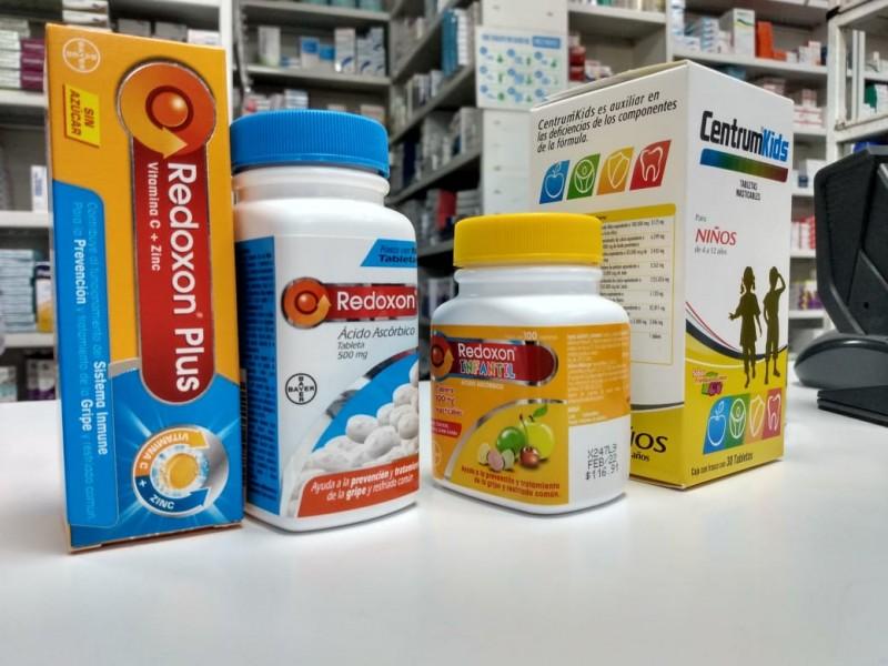 Aumentan ventas de vitaminas en un 60%