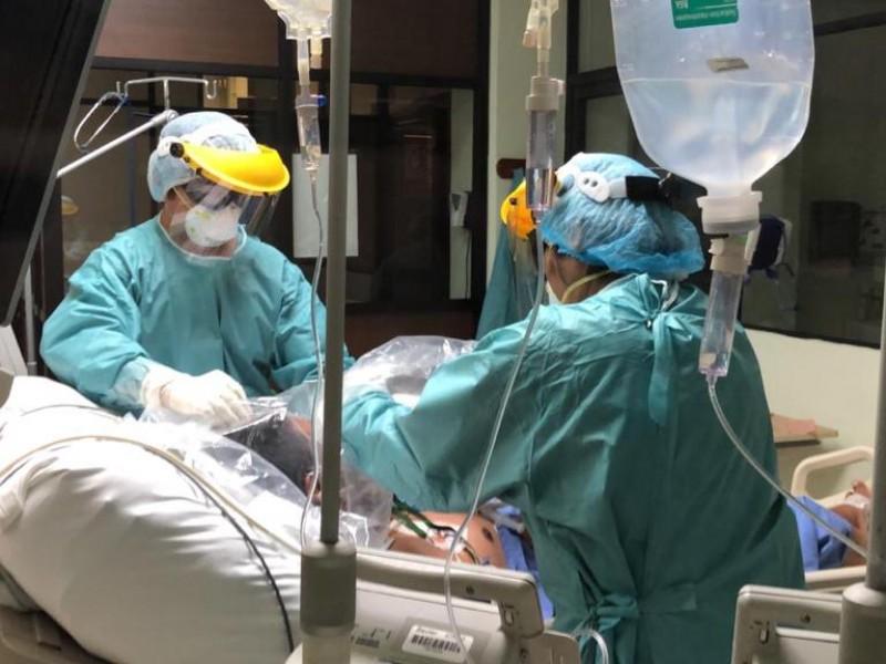 Aumento de contagios de Covid-19, saturan hospitales de Oaxaca