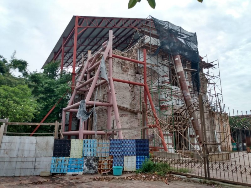 Aún no concluye la reconstrucción en Juchitàn