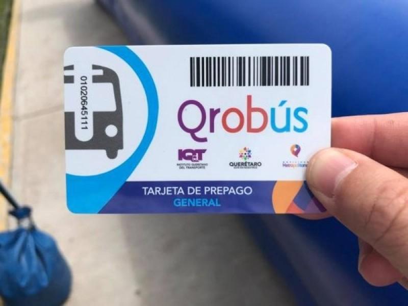Aún puedes canjear tu boleta de apoyo Qrobus