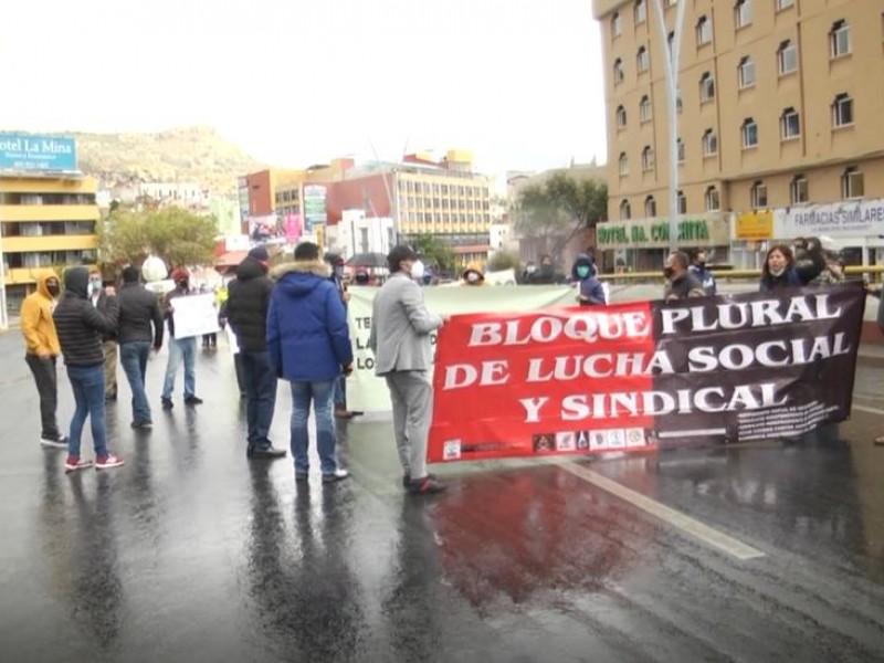 Aún sin solución a exigencias del SITEZ, vuelven a marchar