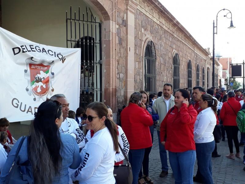 Aún sin solución toma de Presidencia de Guadalupe