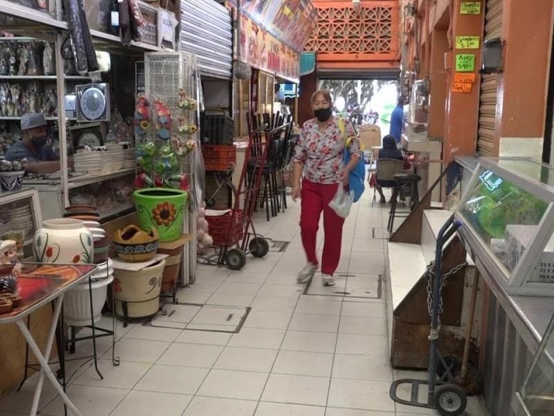 Aunado a campañas de prevención; comerciantes piden apoyos económicos