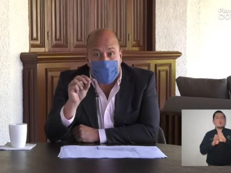 Aunque descarta saturación hospitalaria, Alfaro advierte alerta máxima en Jalisco