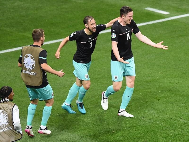Austria debuta con victoria y hace historia en la Eurocopa