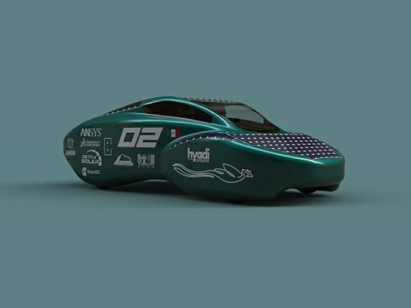 Auto solar mexiquense busca competir en Australia