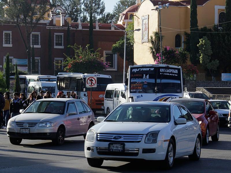 """Automovilistas poblanos sin conocimiento del """"Pase Turístico"""""""
