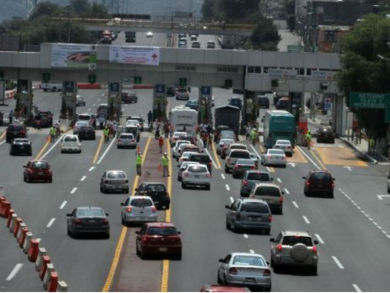Autopista México-Cuernavaca, la de mayor aforo vehicular