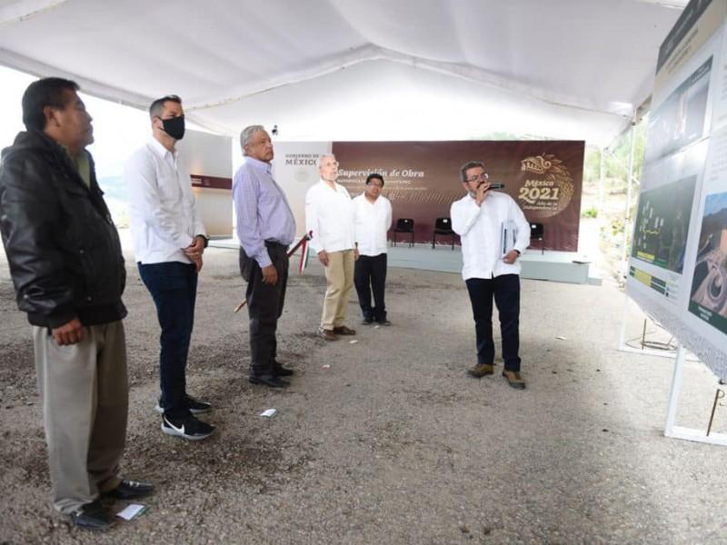 Autopista Mitla-Tehuantepec estará terminada en julio del 2023