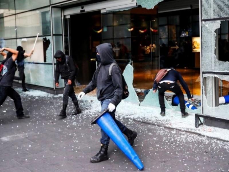 Autoridades de CDMX investigan vandalismo