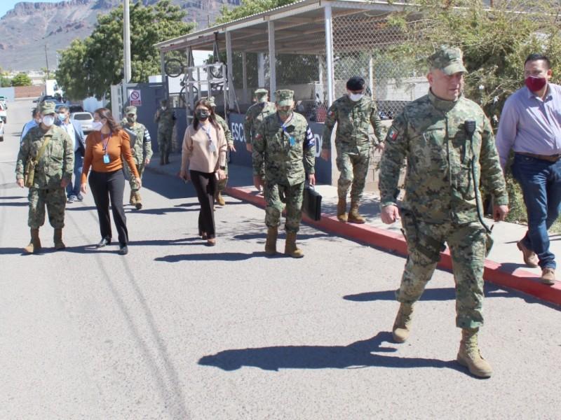 Autoridades de la Secretaría de Marina visitan instalaciones del C4