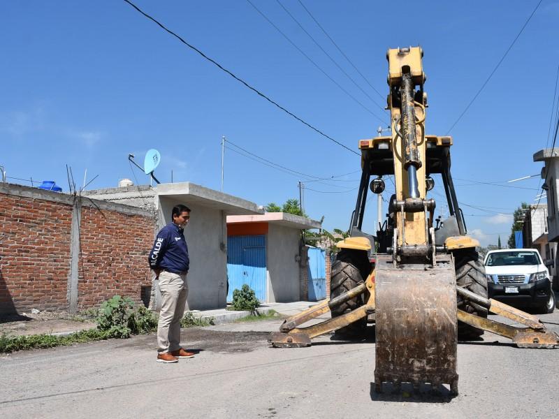 Autoridades de Pedro Escobedo supervisan obras públicas