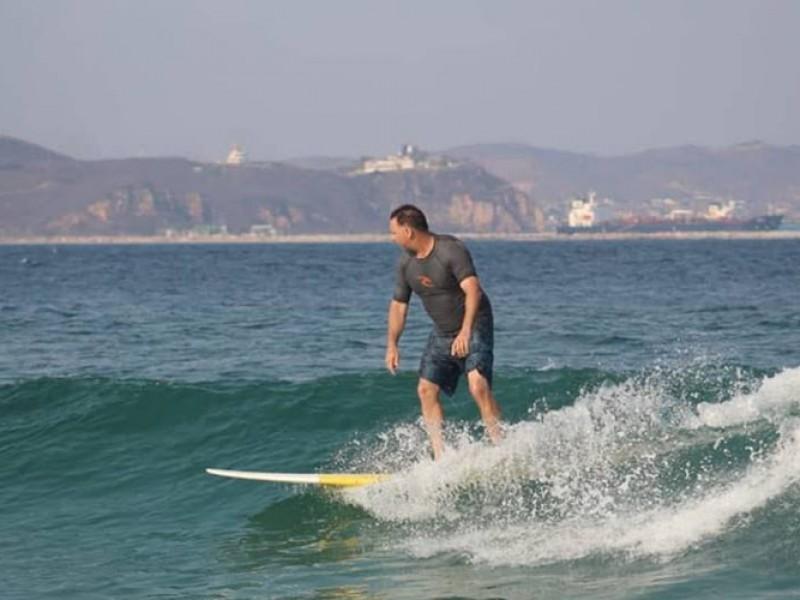 Autoridades de Playa Brasil excluidas para regular actividades de surf