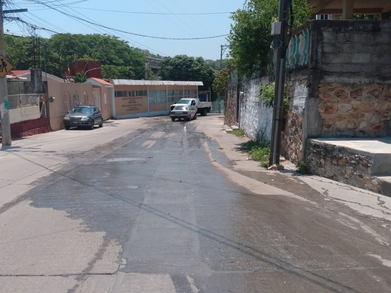 Autoridades desatienden colapso de drenaje en la San Pablo Sur