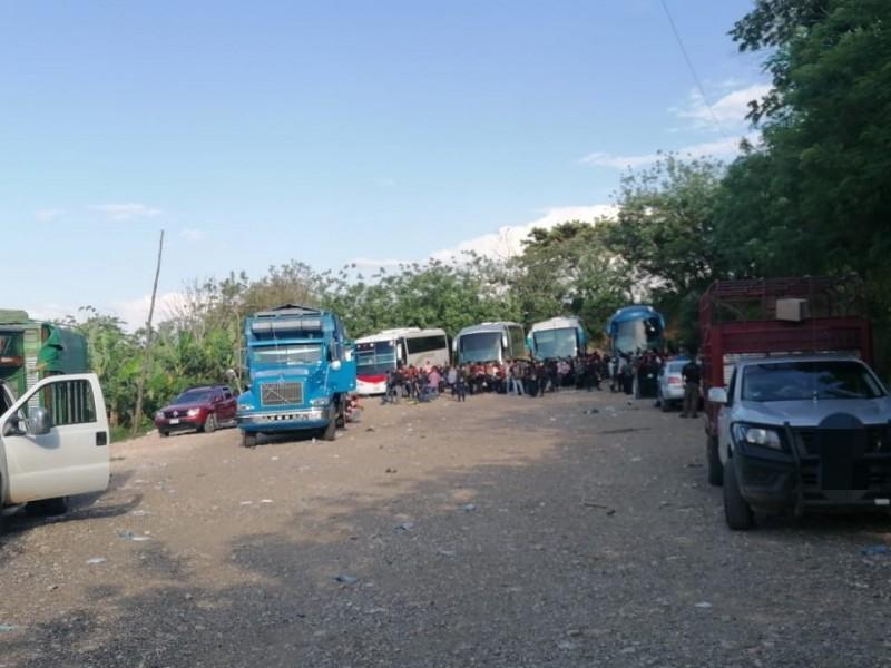 Autoridades detienen en Chiapas a 194 indocumentados tras cateo