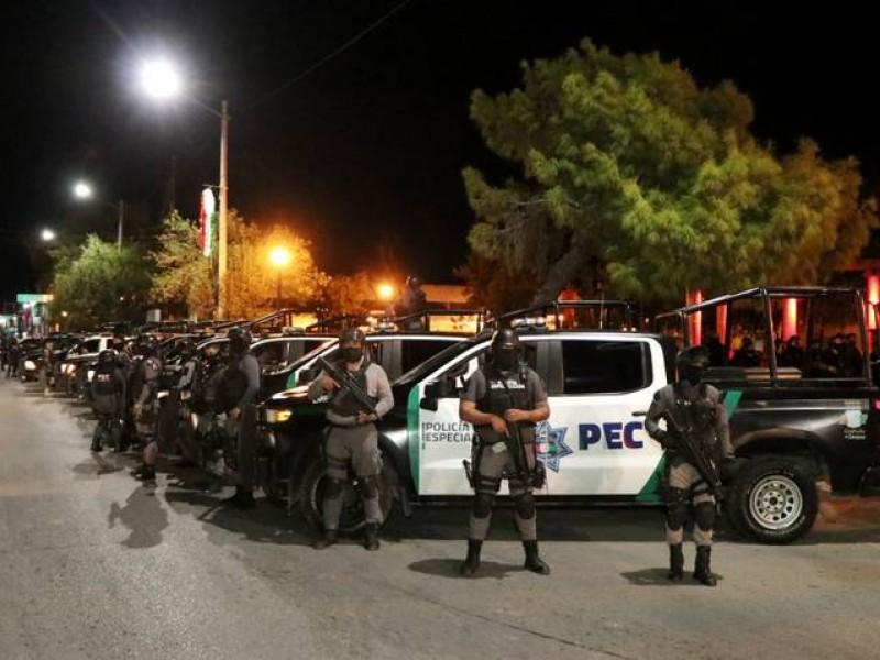 Autoridades ejecutan operativo para cerrar paso de migrantes a EU