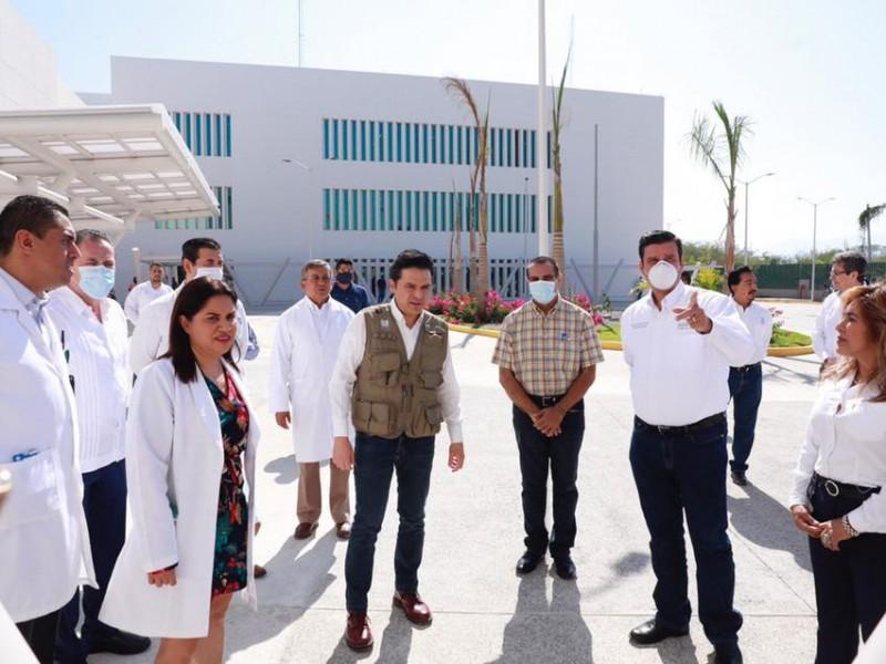 Autoridades Federales inspeccionaron nuevo hospital de BADEBA