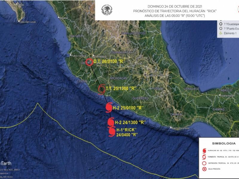 Autoridades implementan plan de acción frente a Huracán Rick