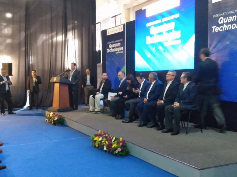 Autoridades inauguran International Workshop on Quantum Technologies