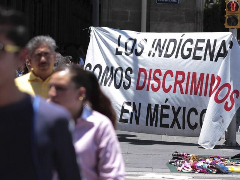 Autoridades indígenas toman INE en Morelia