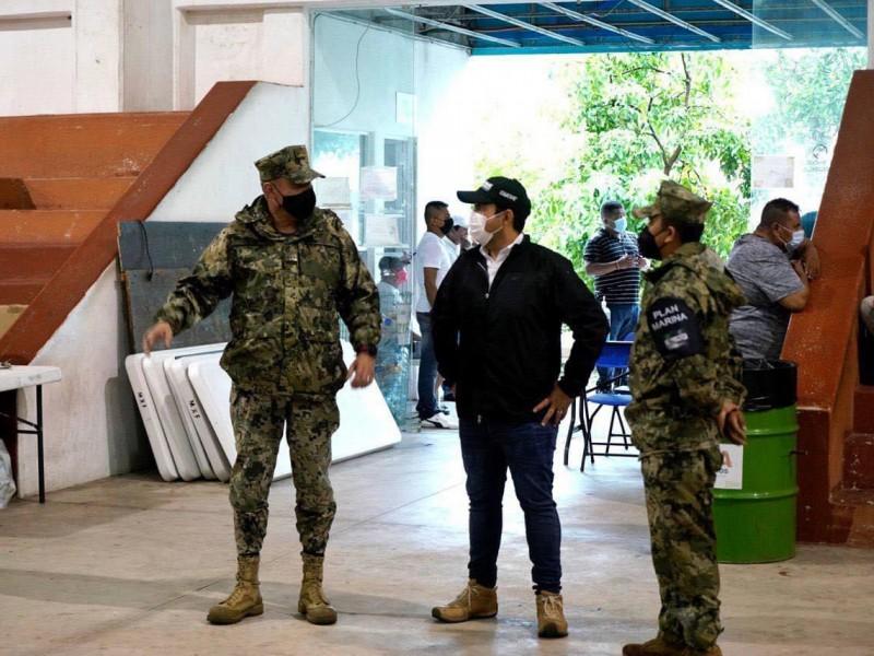 Autoridades preparan albergue en Zihuatanejo ante acercamiento de Rick