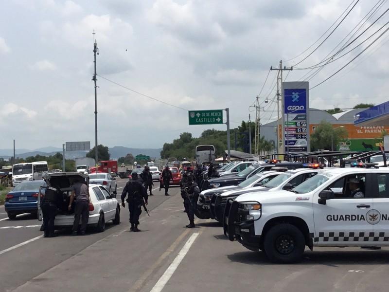 Autoridades reforzaron operativos de seguridad en Querétaro