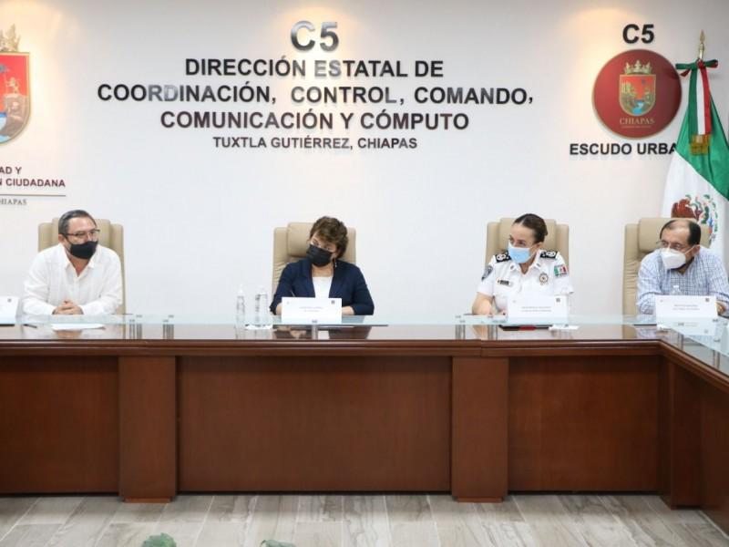 Autoridades se comprometen para brindar seguridad durante elecciones
