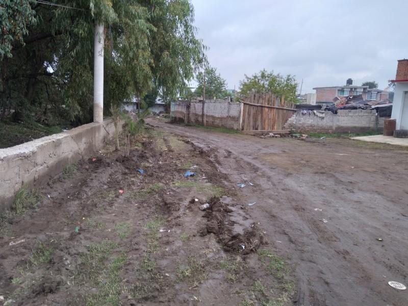 Autoridades se olvidan de San Antonio Acahualco