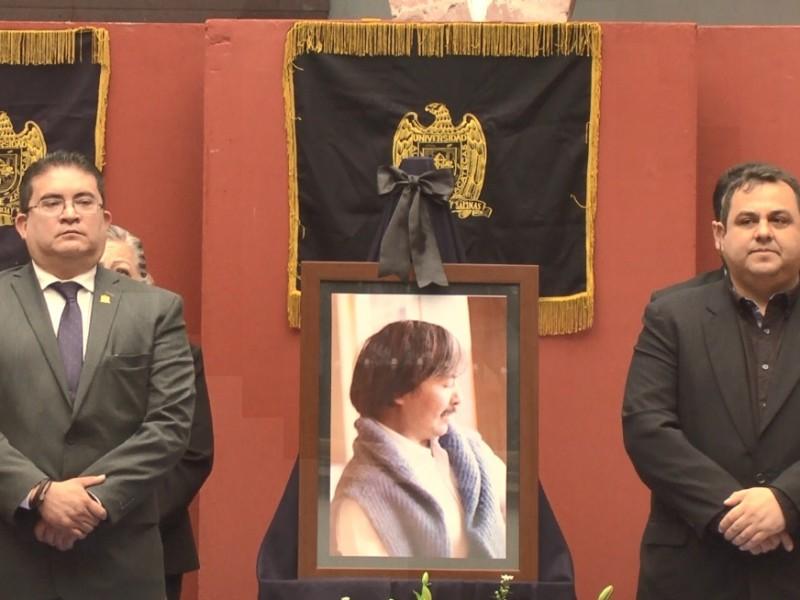 Autoridades universitarias conmemoran a Rene Lara