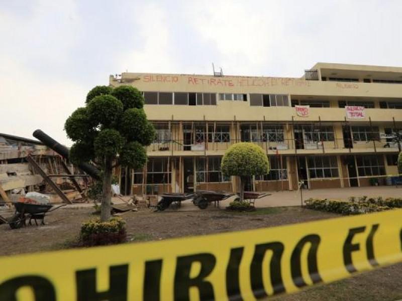 Autorizan remoción de escombros del Colegio Rébsamen