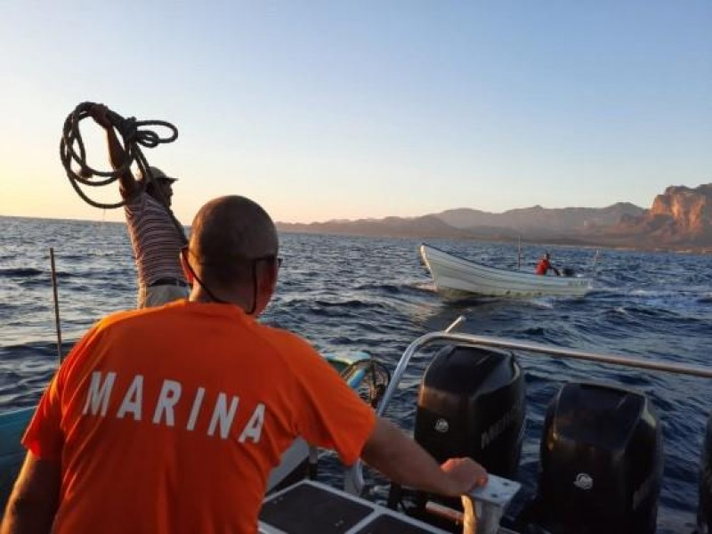 Auxilia Marina a pescadores en la Isla San Pedro Nolasco