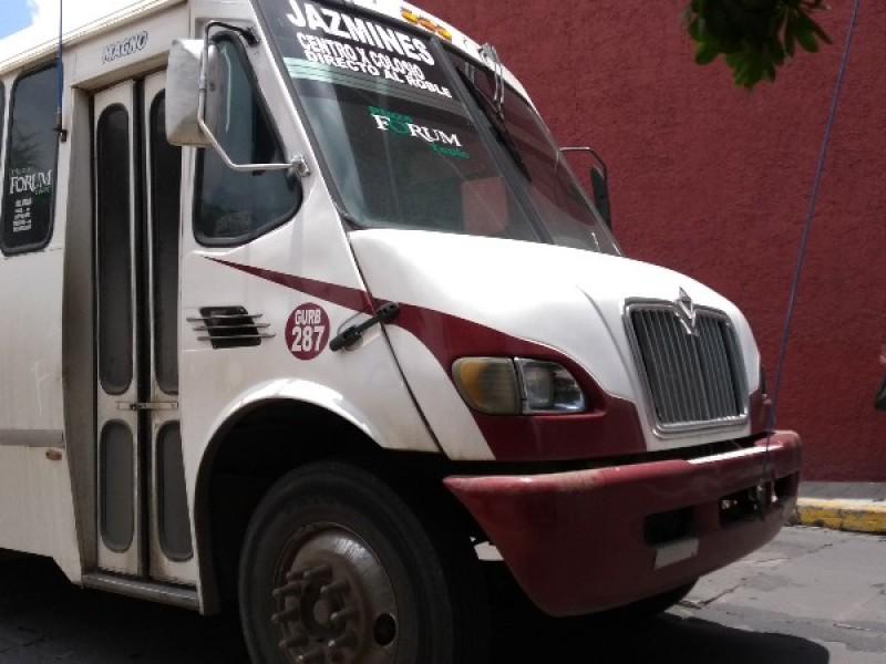 Avala comisión técnica aumento en tarifa de transporte