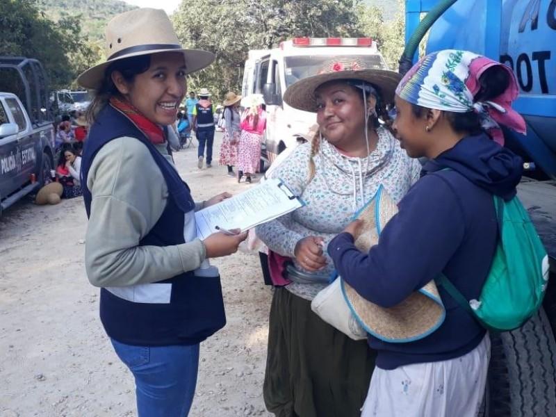 Avances de operativo sanitario en Peregrinación hacia Tepeyac