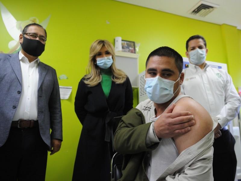 Avanza 32% aplicación de COVID en Sonora