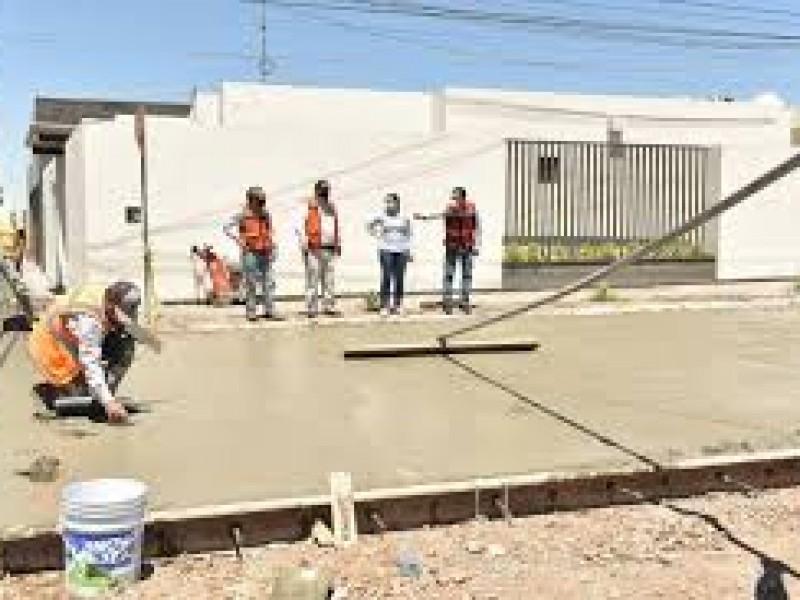 Avanza 40% la pavimentación de 31 calles en Hermosillo