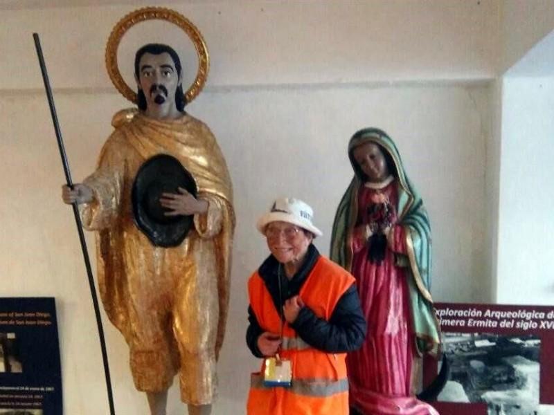 Avanza 'abuelita peregrina' a Basílica