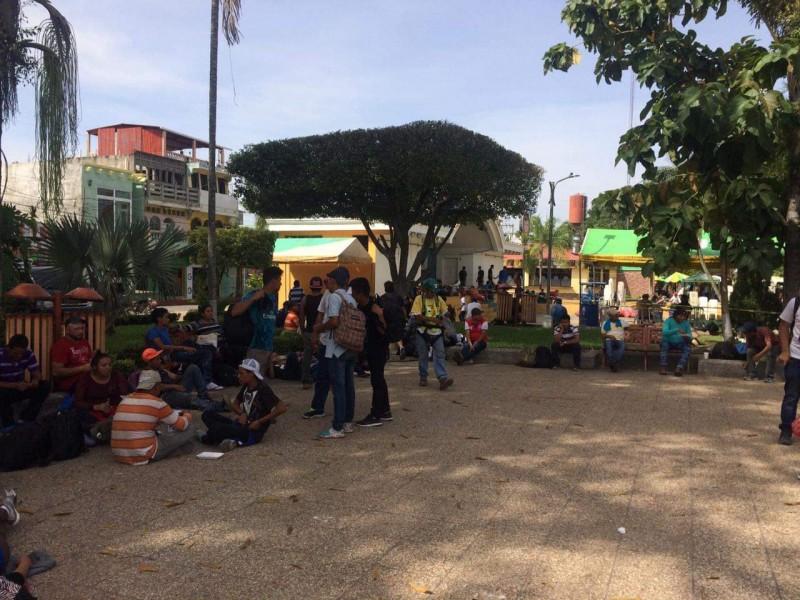 Avanza Caravana Migrante a México