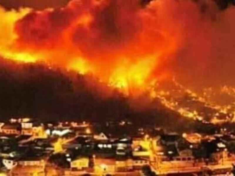 Avanza combate de incendios en Tecate y Ensenada