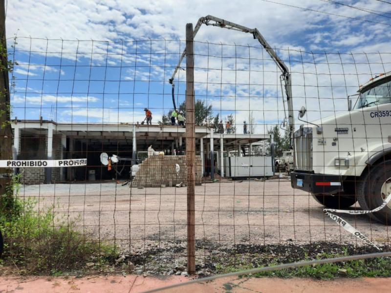 Avanza construcción de hospitales en municipios de Nayarit