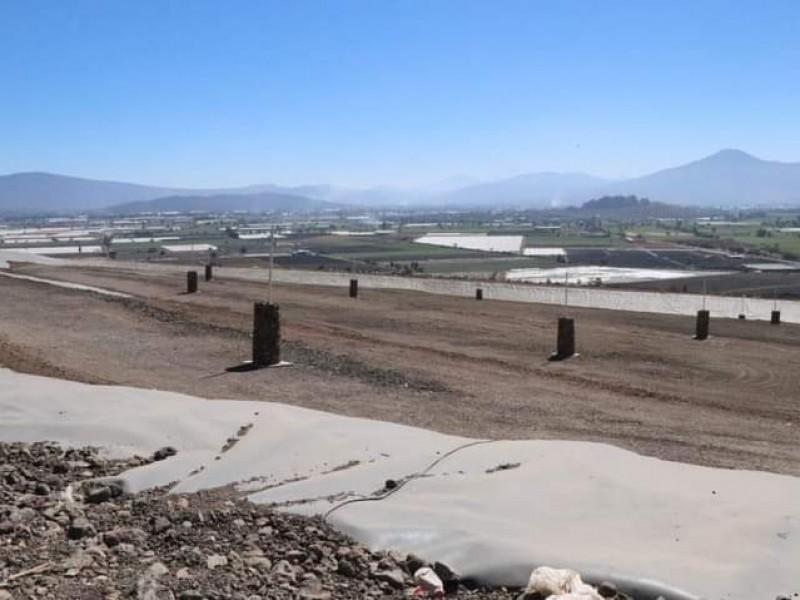 Avanza construcción de nueva celda en relleno sanitario de Zamora